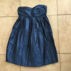 Calypso Silk St. Barth Slate Blue Party Dress XS 2
